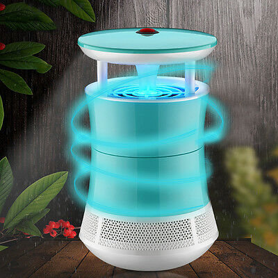Electric LED Mosquito Killer Light Fly Bug Insect Moth Zapper Trap Catcher Lamp