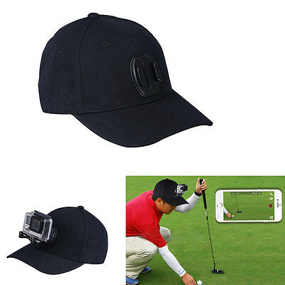 Baseball Hat with Quick Release Buckle Mount for GoPro Session/Hero 5/4/3+/3/2/1
