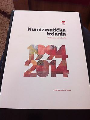 Numismatic Issues 1994 - 2014, CROATIAN NATIONAL BANK HNB, 129 pages !!