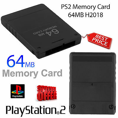 64Mb Memory Card For Ps2 High Speed Version Portable Uk