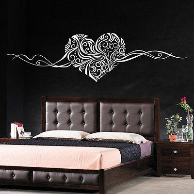 Heart Islamic Pattern Removable  Vinyl Wall Sticker Art Decal Home Decor
