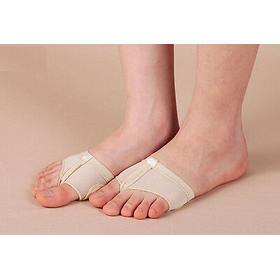 1x Pair Foot Thong, Ballet / Lyrical Dance Shoes Nude All Sizes