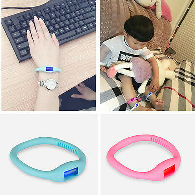 Natural Anti Mosquito Repellent Bracelet Wristband Band Baby Kid Children Travel