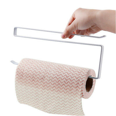 Paper Roll Holder Iron Paint Hang Towel Tissue Preservative Rack Toilet Hook GY