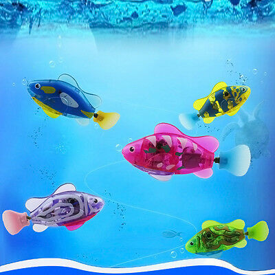 Swimming Robot Fish Activated Magical Electronic Pet Toy Children Gift Robofish