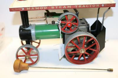 Mamod tractor has scuttle and burner all turns freely KS247