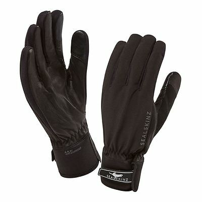 Sealskinz All Season Ladies Gloves - Black - Size XLarge