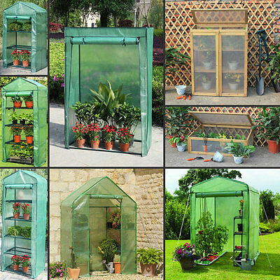 Marko Outdoor Garden Greenhouse Plants Tier Planters Frame Green House & Covers