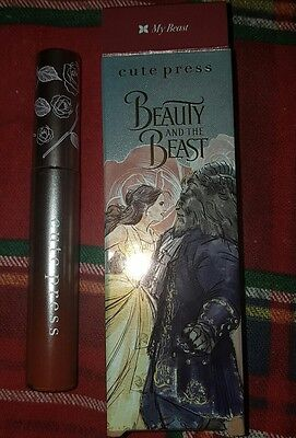 Limited Edition Disney Beauty & The Beast Make Up Matte Lip Gloss Lipstick