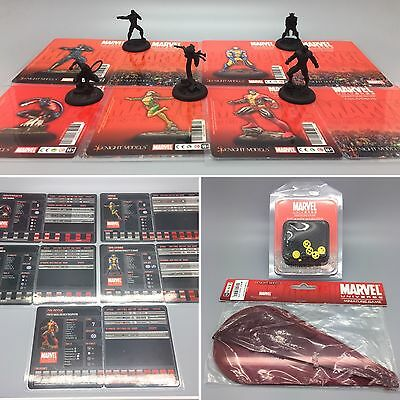 Knight Models Marvel X-Men Starter Set Template Set And Marker Set