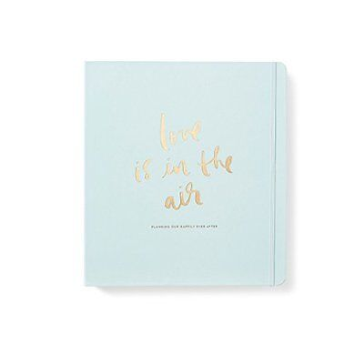 Wedding Bridal Planner Practical & Pretty Love is in the Air Kate Spade New York