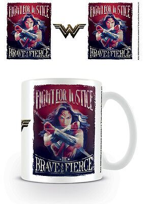 OFFICIAL Wonder Woman (Fight For Justice) - MUG BY PYRAMID MG24523