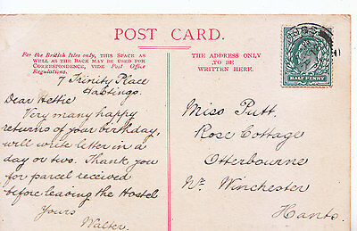 Genealogy Postcard - Family History - Putt - Winchester - Hampshire  400A