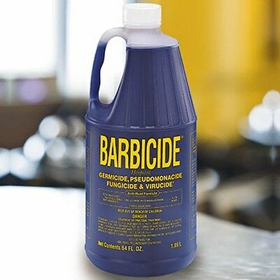 Barbicide Disinfectant Concentrate Solution Anti Rust Formula GERMICIDAL 64 Oz