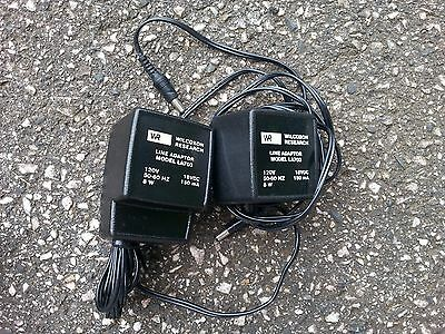 Lot of (2) Wilcoxon Power Supplies, Model LA703 - 120 VAC to 18 VDC