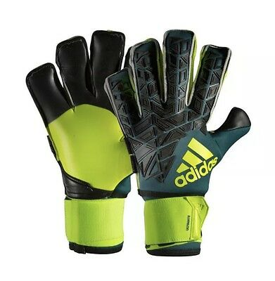 New Adidas Ace Trans Ultimate Goalkeeper Gloves, Adult Size 8