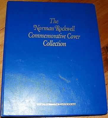 1989, 90,9i, NORMAN ROCKWELL COLLECTION, COMMEMORATIVE COVERS