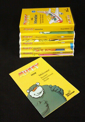 Muzzy BBC Early Advantage Language Course CD/ DVD Multilingual Lot Bundle PAL