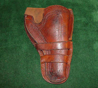 Antique Double Loop Holster for Colt Sheriff's Model Single Action Revolver