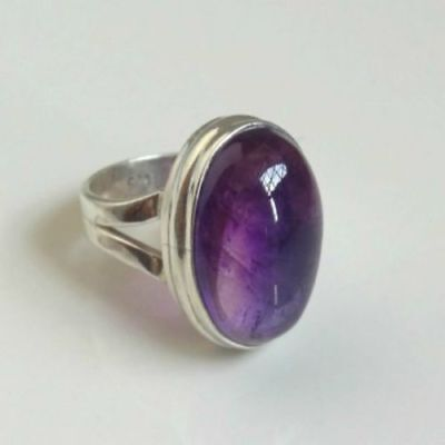 Amethyst Ring 925 Solid Sterling Silver Handmade Jewelry (US-AMY-012)