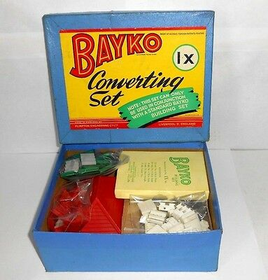 Bayko Converting set 1X with box - complete