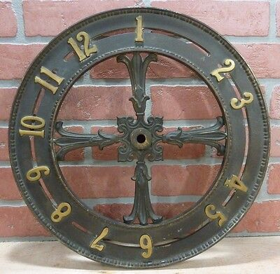 Antique ELEVATOR FLOOR INDICATOR Orig Old Ornate Building Architectural Hardware