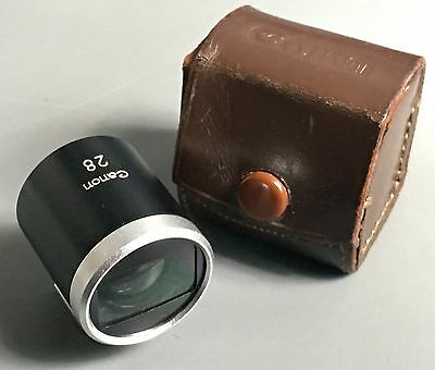Canon P 28mm Optical View Finder for Rangefinder, Leica M3, Leica Screwmount