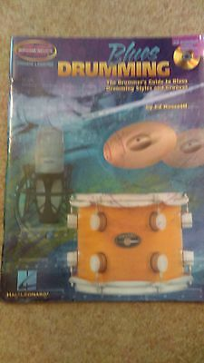 ED ROSCETTI Blues Drumming Book and CD. guide to blues drumming styles/grooves
