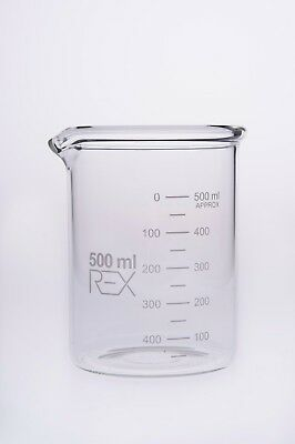 Heavy Duty Extra Thick Beaker Borosilicate Glass 250ml 500ml 1000ml 1L 2000ml 1L