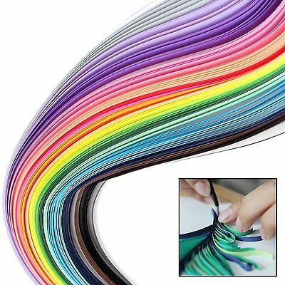 150 Strips Quilling Paper 15 Mix Collours 3 7 10 mm x 390mm DIY Craft Scrapbooks