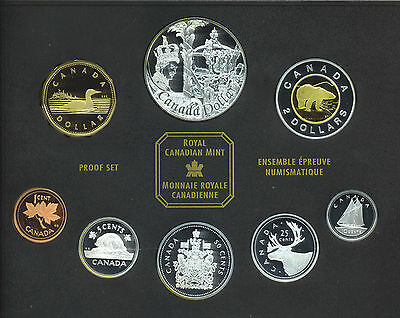 Canada 2002 Proof Set Canadian Coinage Golden Jubilee Box COA