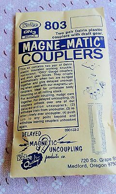 Kadee On3 Scale 803 Magne-matic Couplers