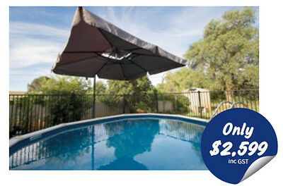 Sterns Mission Beach Pool Package 4.5m x 1.2m AUS Made Above Ground Pool