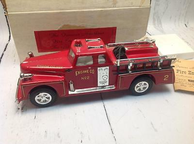 Vintage Pirsch Pumper Fire Engine Decanter By Pacesetter Unused In Original Box