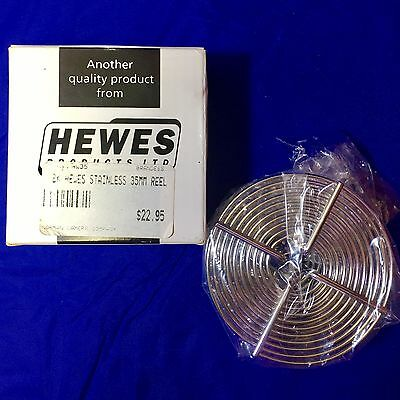 NEW IN BOX! Hewes Stainless Steel 35mm Reel Pro Made in England