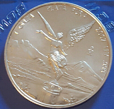 2007 1oz SILVER MEXICAN LIBERTAD     () REAL NICE COIN L S988