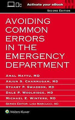 Avoiding Common Errors in the Emergency Department by Amal Mattu Paperback Book