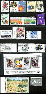 Lot 59261 Mint Nh 105 / 150  Un United Nations Offices In Geneva Switzerland
