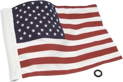 "Show Chrome 4-240US Double Sided 6""x9"" USA American Motorcycle Flag"