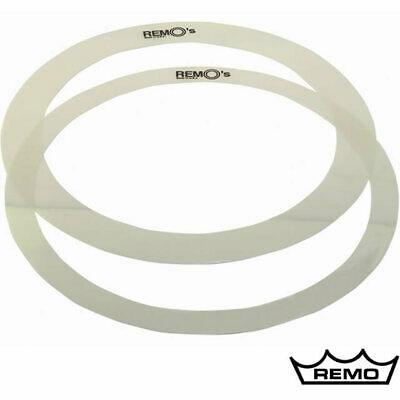 Remo 2x 14 Inch RemO's Tone Control O Ring Snare Drum Dampening Pack RO-0014-00