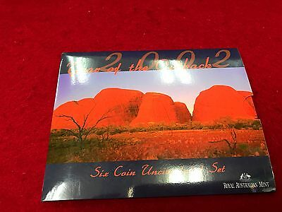 2002 Uncirculated Coin Set Year of the Outback Royal Australian Mint