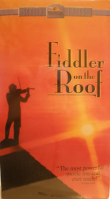 New Fiddler On The Roof Set Of 2 Vhs Tapes - Factory Sealed
