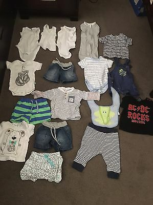 17 Items Of Baby Boy Clothing Size 000 Pumpkin Patch Alex & Ant Target Next