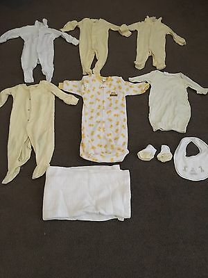 10 Baby Items Clothing & Blanket  Boy Or Girl Neutral Size 0 & 00's Bonds Target