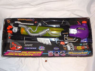 NEW (Read) Super Soaker Super Charger Monster # 9980-0 Squirt Gun New in Box