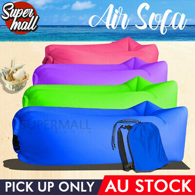 Air Bag Fast Inflatable Lounge Boat Sleep Bag Air Sofa Beach Camping for Pick Up