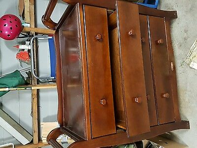 change table drawers