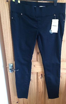 new look maternity Size 16 Jeggings Black Skinny 32 Inch Leg Long Tall BNWT NEW
