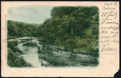 Postcard - Berkshire - Cookham