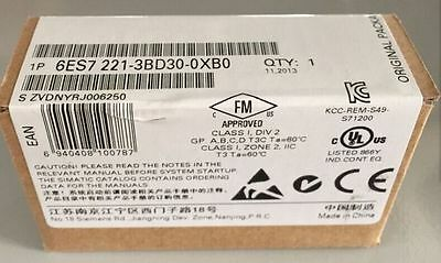 1Pc New In Box Siemens S71200 6Es7221-3Bd30-0Xb0